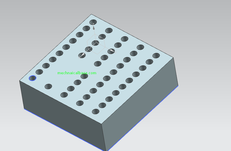 Linear Pattern In Siemens NX(Illustrated Expression)