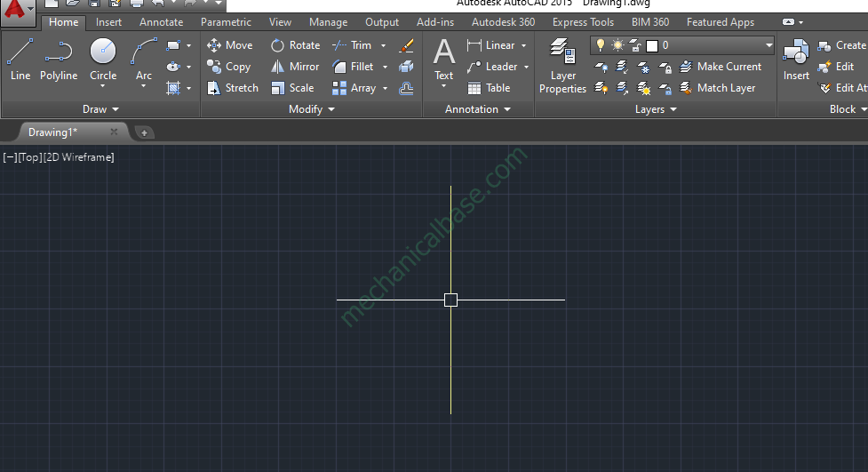 How To Change Crosshair Size In AutoCAD(Illustrated Expression)