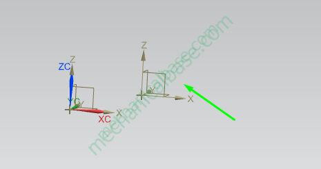 How To Create A New Coordinate Systems In Siemens NX(Illustrated Expression)