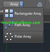 All Array Commands In AutoCAD Sketching