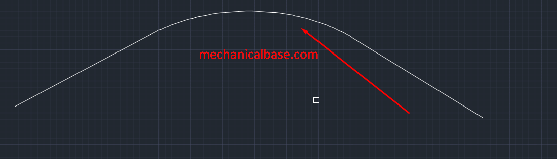 Blend Curves Command In Autocad Sketching(Illustrated Expression)