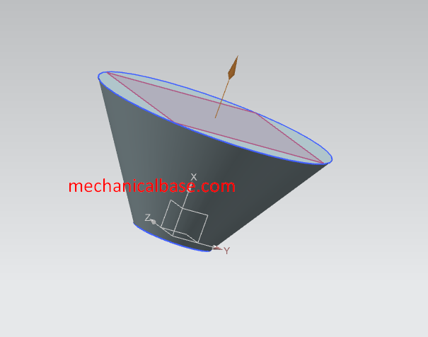 Creating Quick Cone And Conic Geometries In Siemens NX(Illustrated Expression)