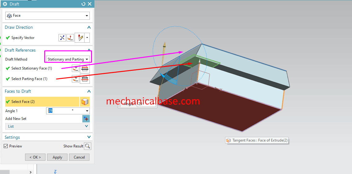 Drafting The Faces Of Geometries In Siemens NX(Illustrated Expression)