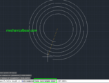 Drawing 2D Spirals In AutoCAD(Illustrated Expression)