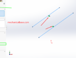 How To Give Parallel Relation Between Solidworks Sketch Entities(Illustrated Expression)