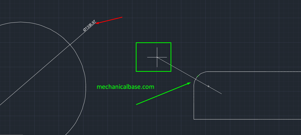Dimensioning Diameters In AutoCAD(Illustrated Expression)
