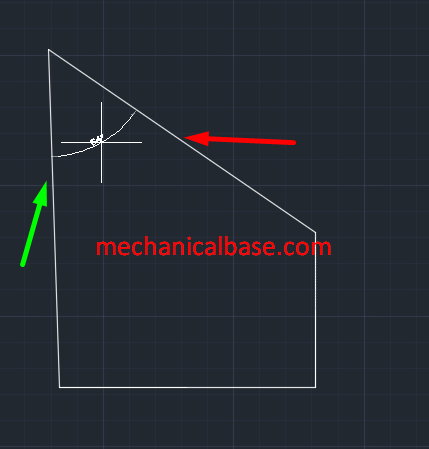 Dimensioning Angular Entities In AutoCAD(Illustrated Expression)