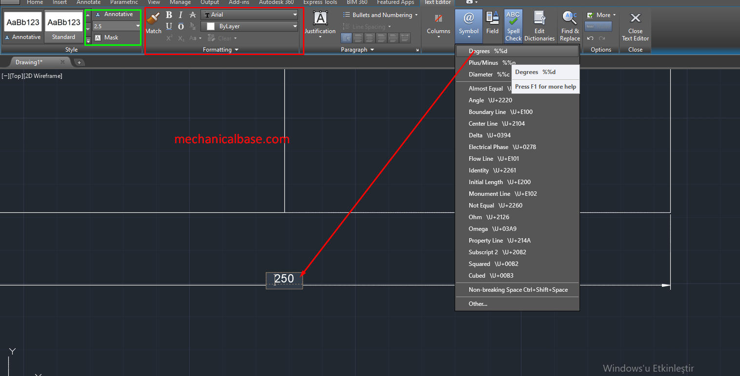 Linear Dimension Command In AutoCAD(Illustrated Expression)