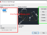 Adjusting Lineweight And Other Options Of Dimension Lines In AutoCAD