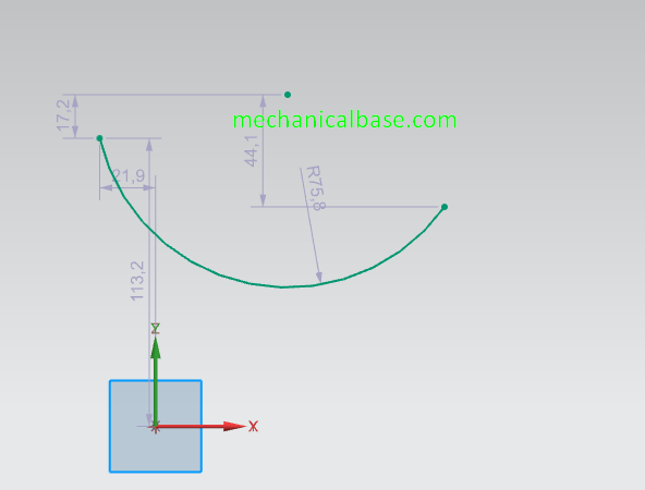 Drawing Arcs With Different Methods In Siemens NX Sketching