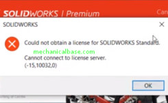 Fixing Solidworks 2020 'Cannot Connect License Server' Error