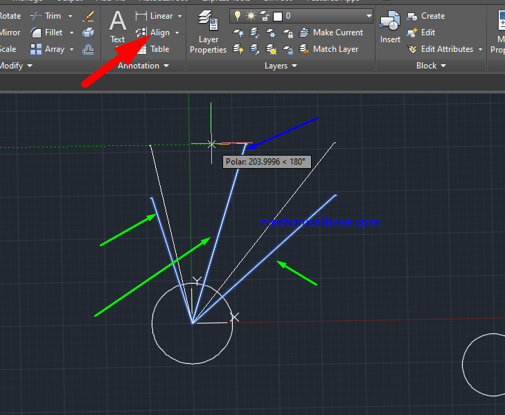 AutoCAD Adding, Removing And Aligning Leaders