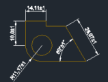 Adding Tolerances To Dimensions In AutoCAD(Illustrated Expression)