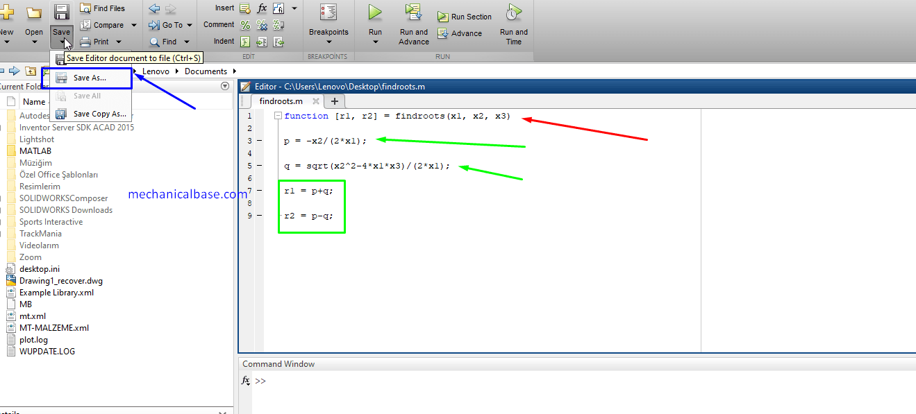 Cumulative Multiplication Of Vectors And Matrices In MatLab