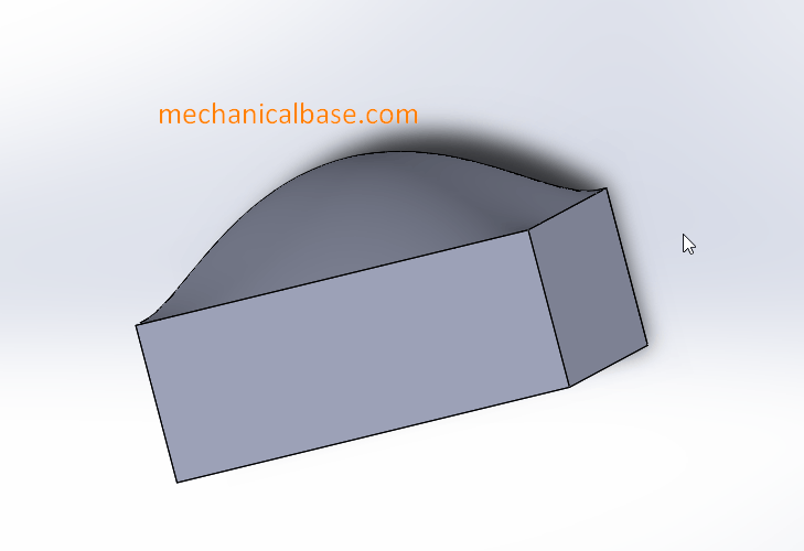 Creating Dome Structures In Solidworks