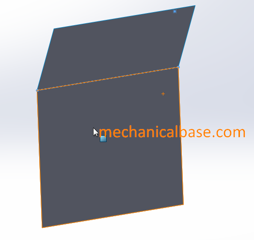 Surface Extrusion In Solidworks To Create Surfaces