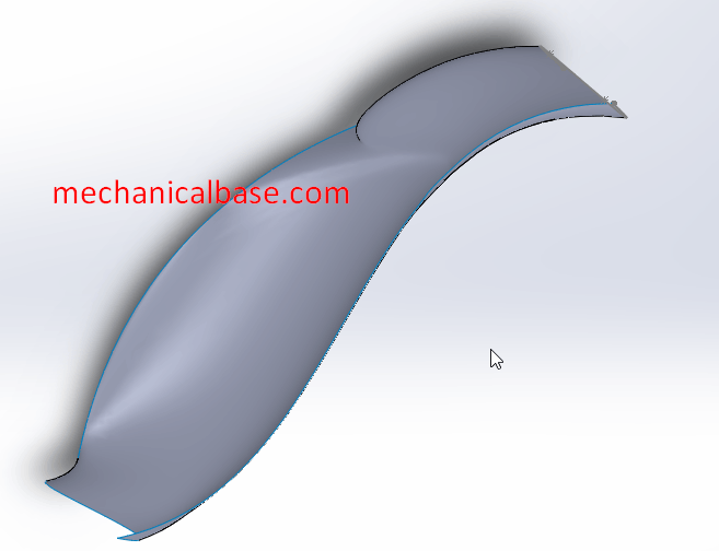 Creating Surfaces With Sweep Method Effectively In Solidworks