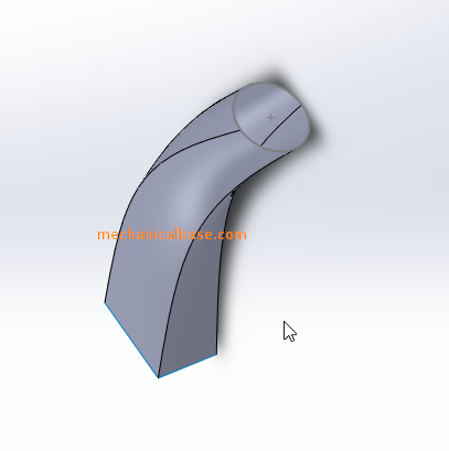 Creating Surfaces Effectively With Lofting Method In Solidworks