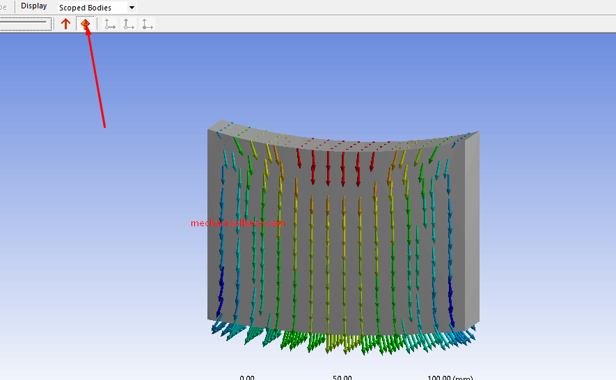 Vector Result Display Options In ANSYS® Mechanical