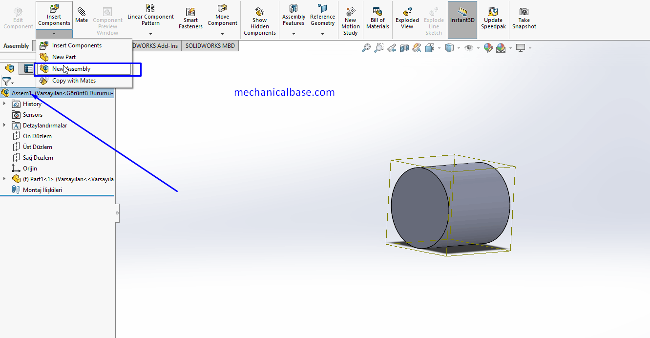 Creating And Working With Sub-Assemblies In Solidworks