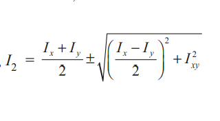 Explanation And Calculation Of Principal Moments Of Inertia