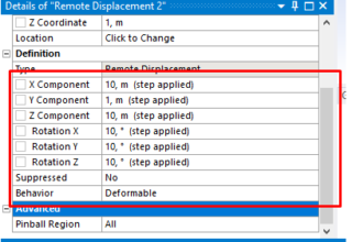 Defining Remote Displacements In ANSYS® Analyses