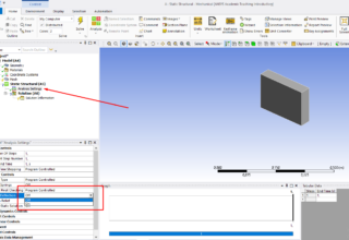 Large Deflection Option In ANSYS® Structural Analyses