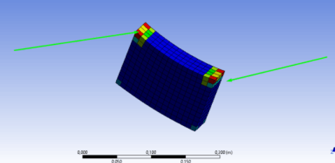 Displaying Structural Error Results In ANSYS® For Mesh Refinement